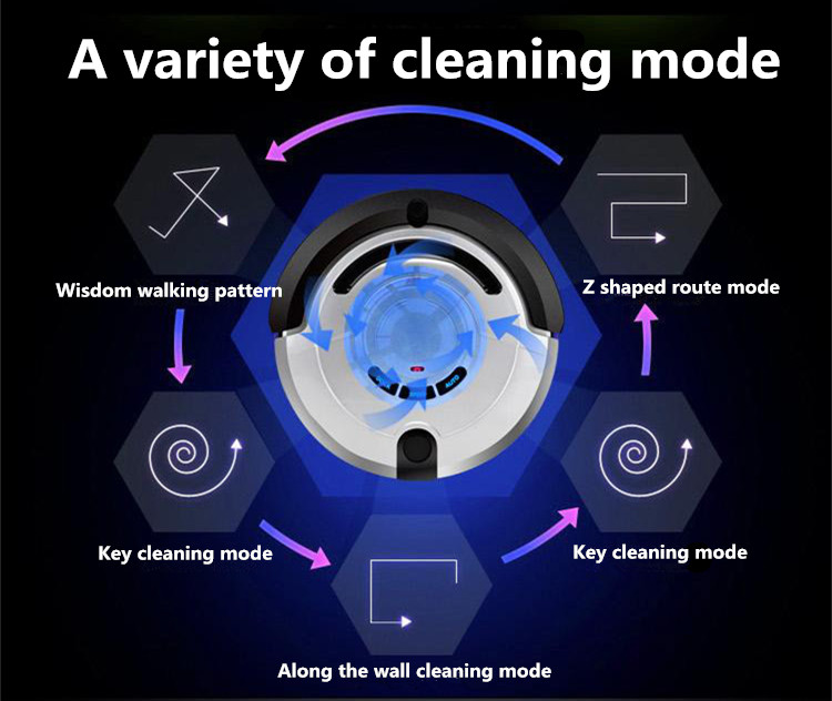 Intelligent Robot Vacuum Cleaner for Home Slim, Self Charge (Sweep,Vacuum,Mop)Cleaner with Big Suction Power vacuum cleaner(China (Mainland))