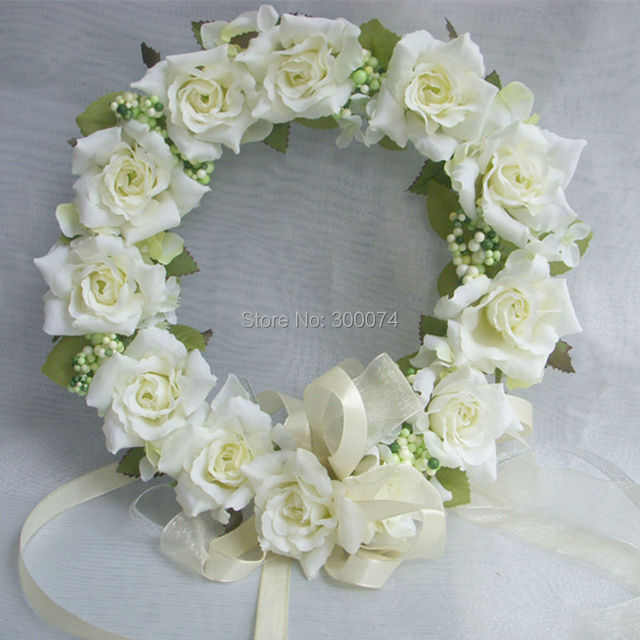 how to make a flower crown with artificial flowers