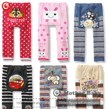 18pcs/lot Kids Toddler Boys Girls 2016 Baby Infants PP Pants Cartoon Print Stripes Bottom Trousers Leggings Warm Clothes (China (Mainland))