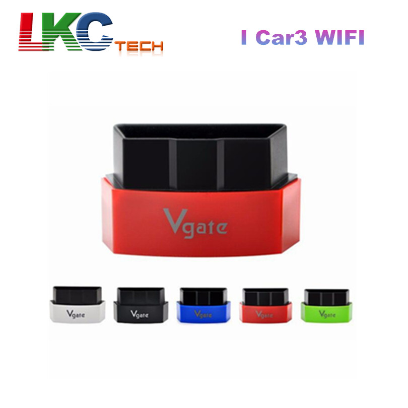 2016 Factory Price Vgate iCar3 Wifi OBD2 Code Reader I Car3 WIFI ELM327 Support OBDII Protocol Cars for Android/ IOS/PC(China (Mainland))