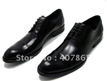 free shipping !! dress shoes/man leather shoes