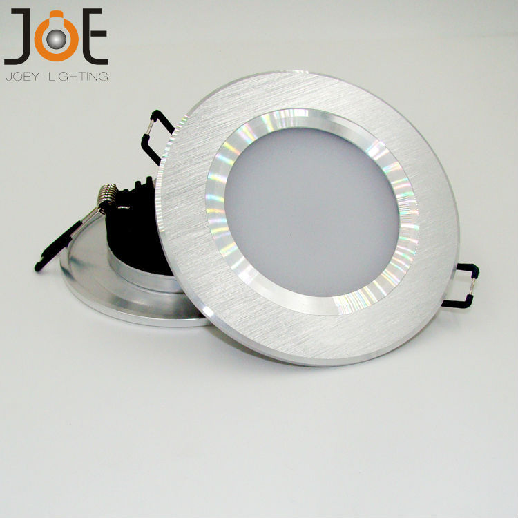 Ultra thin led downlight lamp 3w modern led ceiling recessed grid down light slim round panel light free shipping 9662<br><br>Aliexpress