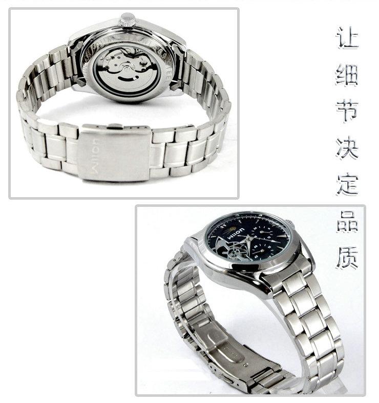 Аутентичные veyron многофункциональный перспективе tothe машина основной бизнес мужчина полностью автоматические механические часы мужские часы