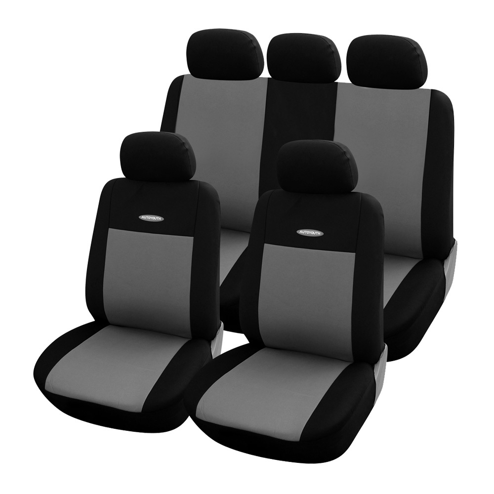 High Quality Car Seat Covers Universal Fit  Polyester 3MM Composite Sponge Car Styling lada car covers seat cover accessories(China (Mainland))
