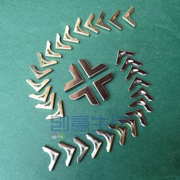 Menus corner guard handmade photo album Menus bag corner guard copper angle wallet Menus material gold cutout bag
