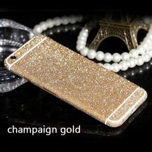 Buy DIY Phone Cases Full Body Bling Diamond Matte Decal Glitter Back Film Sticker Case Cover Skin Apple iPhone 6 6s 6 Plus for $2.09 in AliExpress store