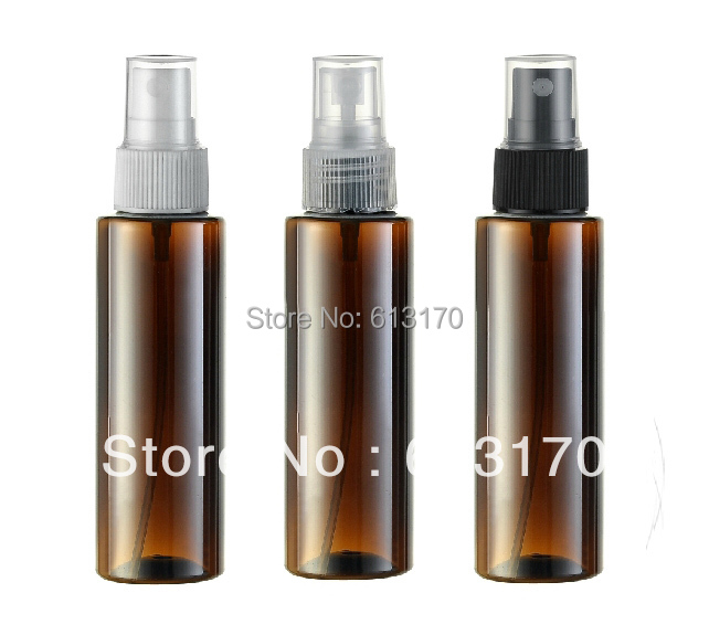 100ml brown square spray bottle liquid pet spray bottle three nozzle color wholesale/retail free shipping PW05