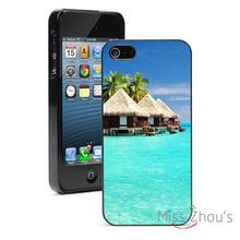 Bungalows Vacation Protector back skins mobile cellphone cases for iphone 4/4s 5/5s 5c SE 6/6s plus ipod touch 4/5/6