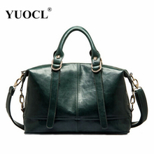 Buy YUOCL Designer Women Leather Handbag 2016 New Popular Fashion PU Leather Women Shoulder Messenger Bag female bolsa feminina for $26.98 in AliExpress store