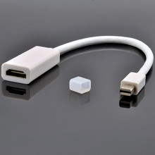 High quality Mini DisplayPort Thunderbolt to HDMI Female Adapter Cable for Apple MacBook Pro,Hot selling