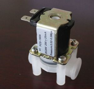 """New Arrival DC 24V Electric Solenoid Valve Magnetic N/C Water Air Inlet Flow Switch N/C 1/4"""" For Sale(China (Mainland))"""