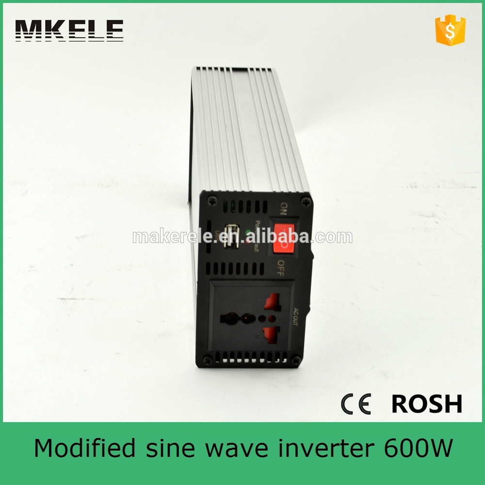 MKM600-242G micro power inverter 600w 220/230vac modified sine wave 24vdc 600 watt power inverter portable inverter