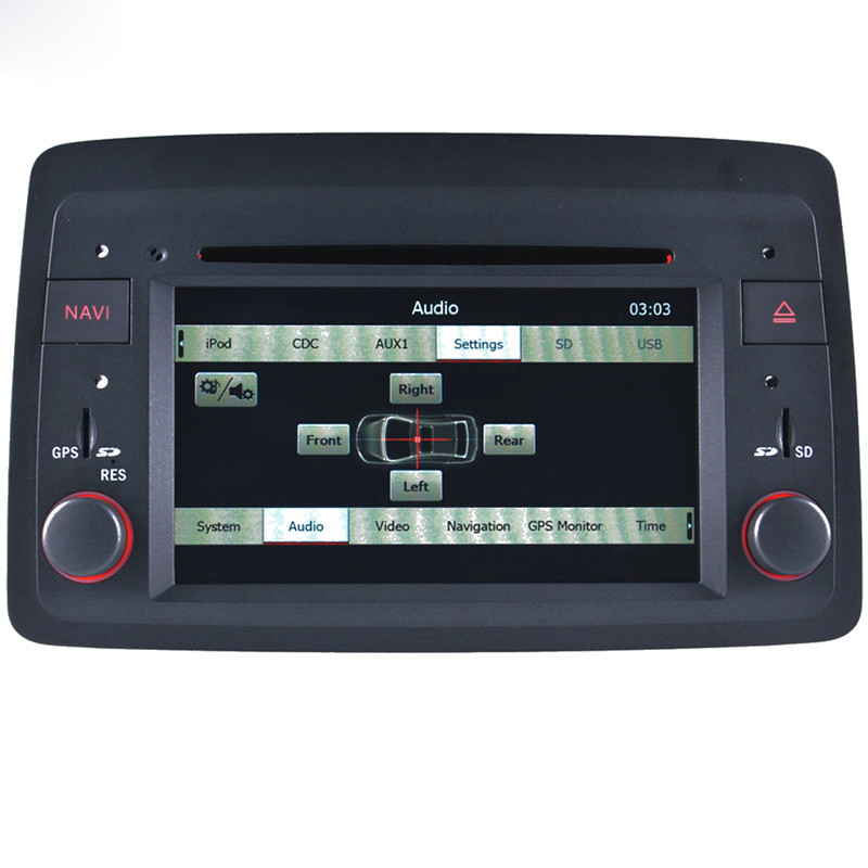 Free Shipping 2015 Top Auto Spare Parts Wince Car Multimedia DVD Radio For Fiat Panda 2004- Development With GPS Navigation(China (Mainland))