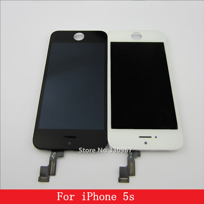 no dead pixels white and black lcd ecran pantalla for iphone 5s lcd touch screen digitizer. Black Bedroom Furniture Sets. Home Design Ideas