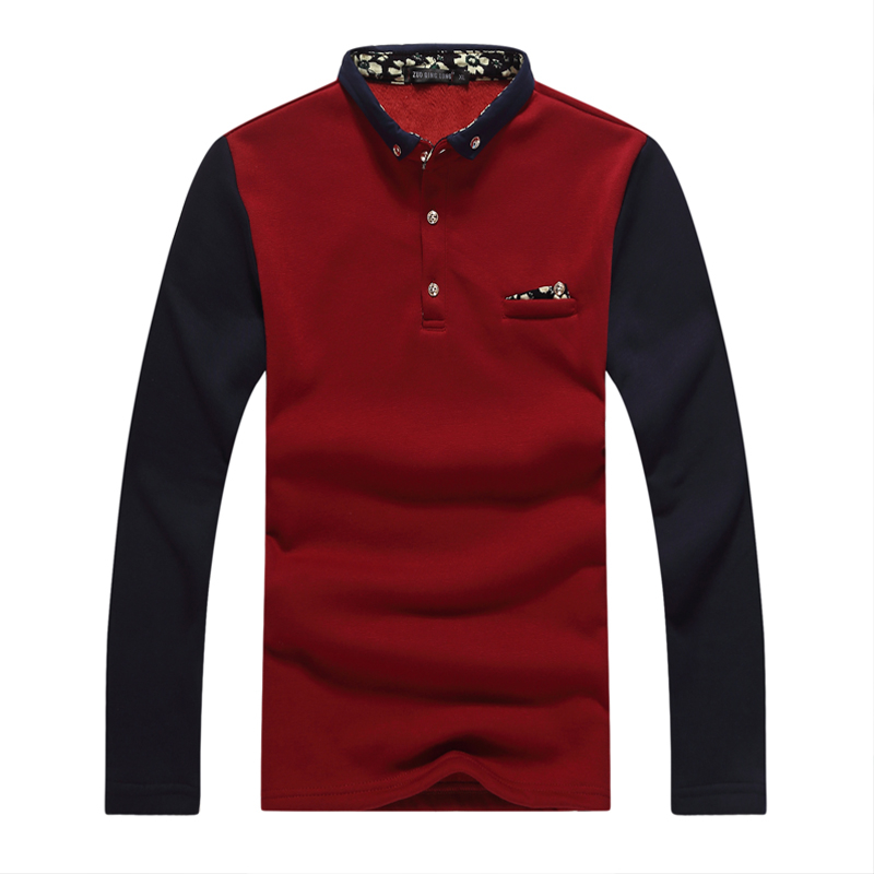 2015 Hot Sale Breathable Full Solid Color Long Sleeve Men