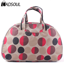 2015 New Women Handbag Travel Bag Fashion Waterproof Oxford Women Colorful Travel Bag Large Hand Canvas Luggage Bags HL6422(China (Mainland))