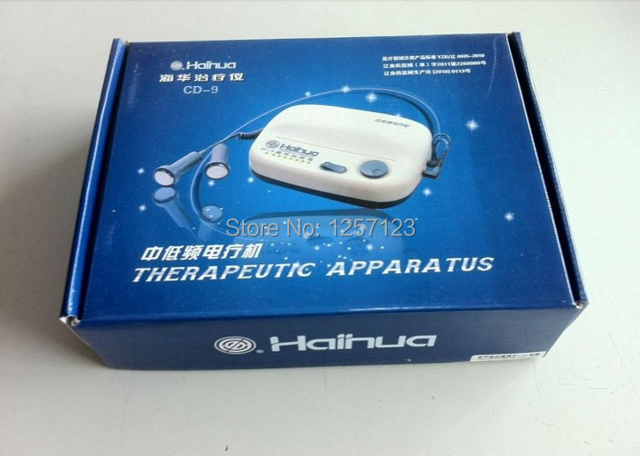 Free shipping Haihua CD - 9 Acupuncture Stimulator with 3 set of contact terminals (electrods) Therapeutic Apparatus(China (Mainland))