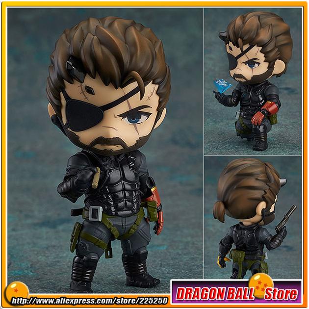 """Metal Gear Solid V: The Phantom Pain"" Original Good Smile Company Nendoroid 565 Action Figure - Venom Snake Sneaking Suit Ver.(China (Mainland))"