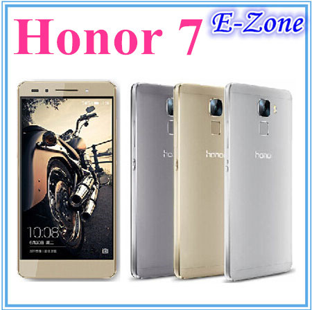 "Original Huawei Honor 7 Hisilicon Kirin 935 Octa Core Android 5.0 3GB RAM 16GB Rom 20MP 5.2"" FDD-LTE 4G Dual Sim mobile phone(China (Mainland))"