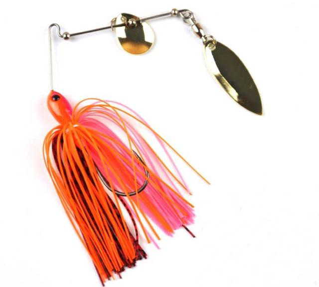 Free shipping Fishing hunter single pole two-piece bait