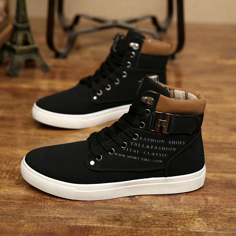 f4a70393f Men Shoes Sapatos Tenis Masculino Male Fashion Spring Autumn Leather ...