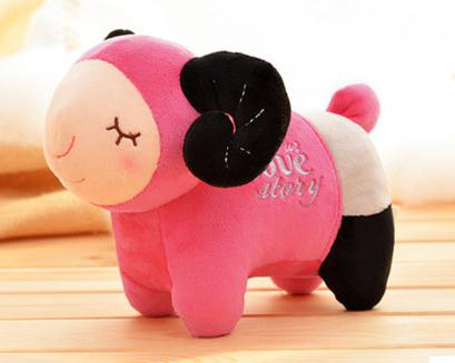 Cartoon cute plush toys sheep creative doll 20cm giant stuffed animals lama 6 kinds of color kawaii(China (Mainland))