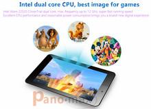 7 inch dual core Intel tablet with Intel Atom Z2520 CloverTrail 1GB RAM 8GB Storage support