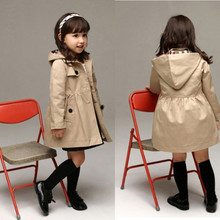 New 2016 Wind Coat Cardigan Jackets for Girls Brand Girls Spring Trend Style Girls Jackets Kids Winter Trench Autumn outwear
