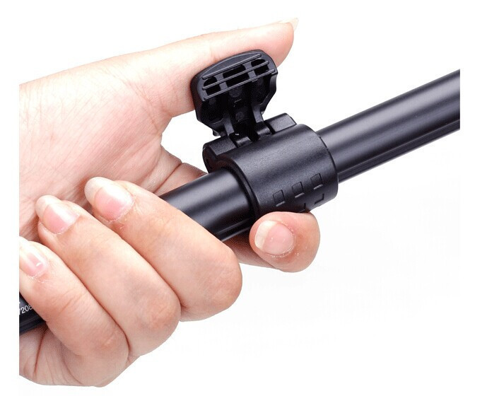 Bluetooth Remote Shutter Telescopic Handheld Tripod Monopod With Clip For