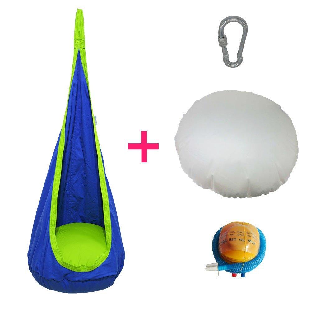 2016 Outdoor Indoor Inflatable Hanging Hammock Swi.