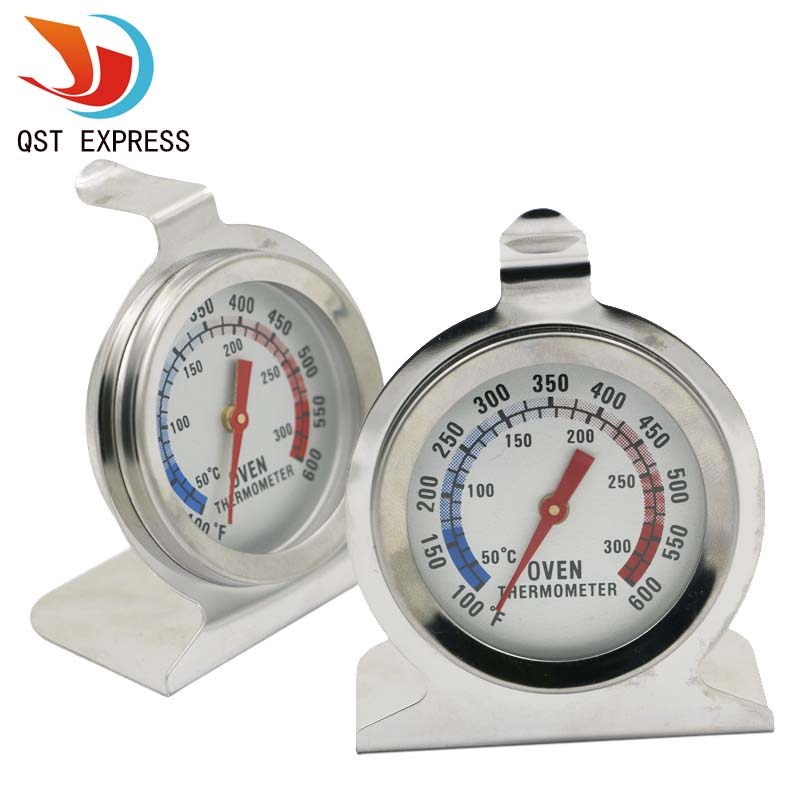 Oven Thermometer Food Meat Temperature Stand Up Dial Gauge Gage Wholesale(China (Mainland))