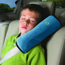 Universal Bay Child Car Cover Pillow Baby Shoulder Safety Belts Children Strap Harness Protection seats Cushion Support hot sale(China (Mainland))