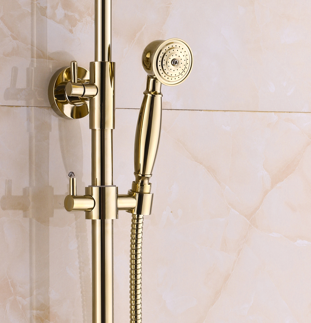 Brass Shower Fixtures