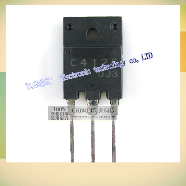 C4125 2 original teardown sc4125 color TV manager triode electronic components partsFree shipping(China (Mainland))