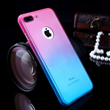 Buy Gradient Hard Plastic Phone Case Apple iPhone 5 5S 5G 6 6S 7 Plus SE 5SE Back Cover Skin Protective Shell Bags for $2.28 in AliExpress store