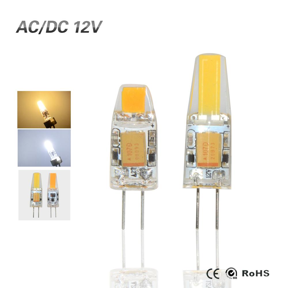 G4 COB 12V COB LED Bulbs 3W 6W AC12V LED G4 COB lamp Replace for Crystal LED Light Bulb Spotlight Warm Cold White(China (Mainland))