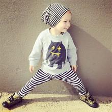 MILAN KIDS Brand New Kids Boy Girl Ghost Printed Hoodies Baby Cotton Long Sleeve Autumn Fall Sweaters Clothing Top Wear KIKIKIDS(China (Mainland))