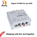 Double antenna 120KM H Max High Speed Car HD DVB T2 H 264 MPEG 4 Mobile