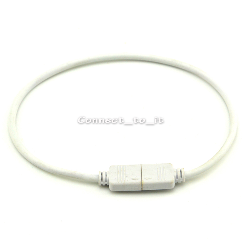 RGB Extension Cable Wire 30cm with 4 Pin Connector for 5050 RGB LED Strips(China (Mainland))