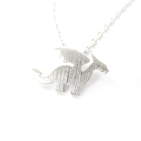 30pcs 2015 Newest Dragon with Wings Silhouette Shaped Animal Charm Necklace in Gold and Silver  Handmade Animal Jewelry  XL-134<br><br>Aliexpress