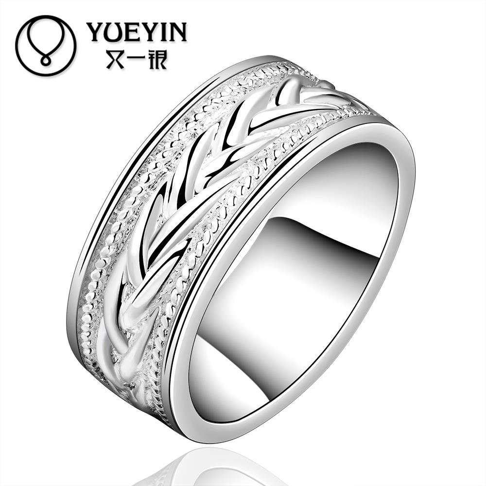 R650 Hot Sale Factory cheap Price 925 Silver new design Round finger Women Ring Free shipping(China (Mainland))