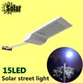 2016new 15led solar light smd2835 led street light solar power panel Light control for Garden path