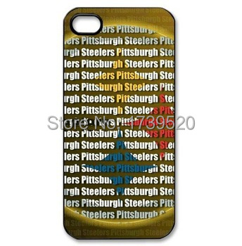 Free shipping Pittsburgh Steelers custom protective Smart Mobile Cell Phone Case cover for iphone 4 4s 5 5s 5c 6 plus03(China (Mainland))