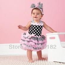 2016 Hot selling Baby Clothing summer Baby dress infant tutu girl dress lace cake dress Free shipping(China (Mainland))