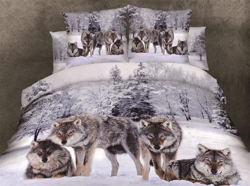 Волк Печати Постельных Принадлежностей – Купить Волк Печати ...