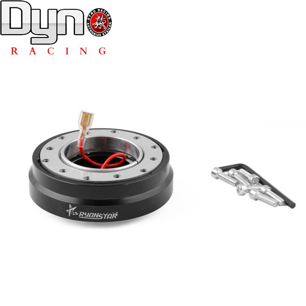 DYNO RACING -Free Shipping 2015 NEW RYANSTAR 6 Hole Thin Version Steering Wheel Quick Release Hub Adapter Snap Off Boss kit(China (Mainland))