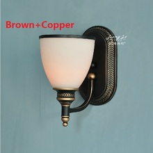 Buy American Country Vintage Wall Light Nordic RH Loft Industrial Decor E27 Bedside Lamp Fixtures Modern Bathroom Luminaire 110 220V for $88.93 in AliExpress store