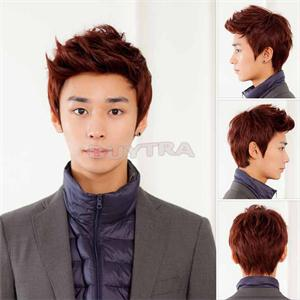 2014 New BL Eco Friendly 4 color Handsome Boys Wig Korean Fashion Men s Short False