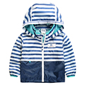 2016 Spring Autumn Fashion Children Jackets Hooded Outdoor Raincoat Kids Clothes Waterproof Baby Boy Clothing Sports
