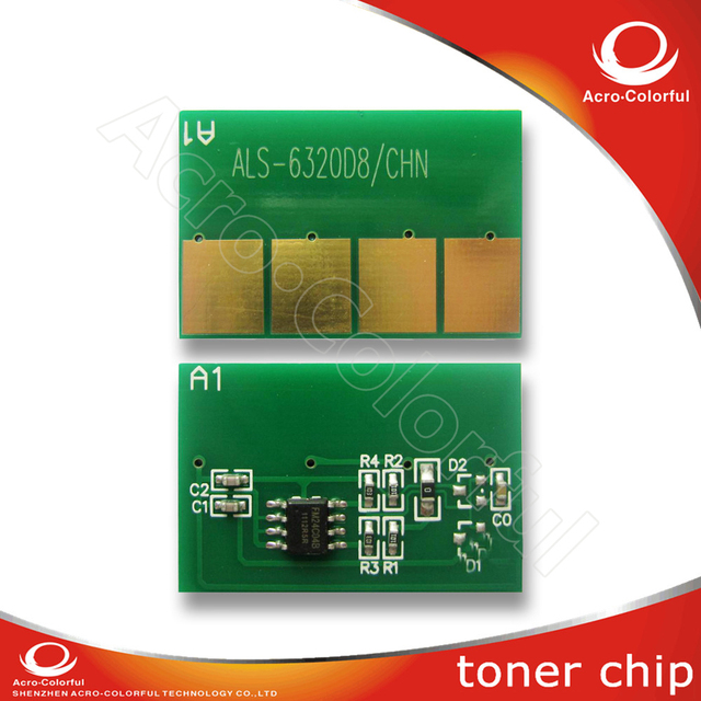 Laser printer toner reset chip for samsung scx 6220 chip